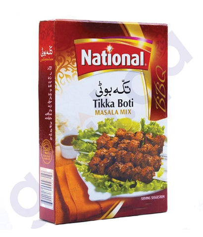 BUY NATIONAL BARBEQUE TIKKA BOTI 50GM ONLINE IN QATAR