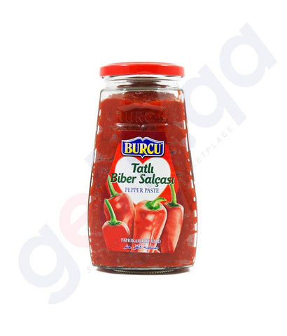BUY BURCU PEPPER PASTE HOT 320GMS ONLINE IN QATAR