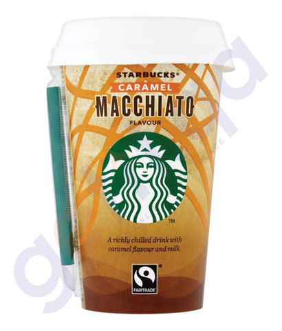 BUY STARBUCKS DISCOVERIES CARAMEL MACCHIATO 220ML IN QATAR