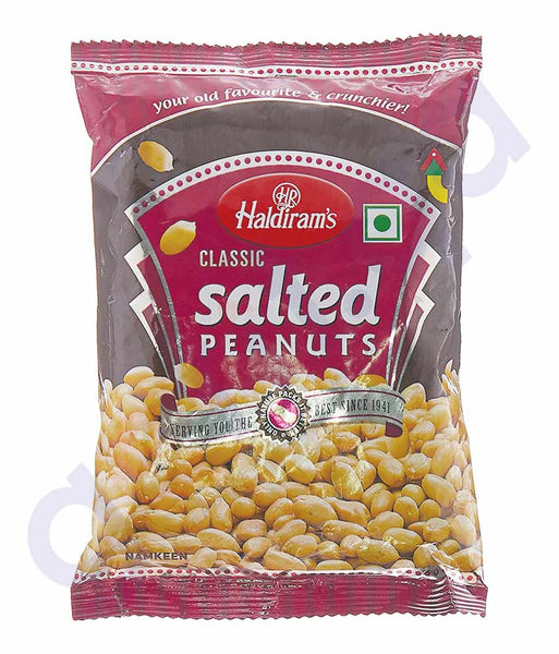 BUY HALDIRAMS SALTED PEANUT 200GM ONLINE IN QATAR