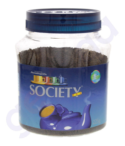 BUY BEST PRICED SOCIETY INDIAN LEAF TEA JAR 225KG ONLINE IN QATAR
