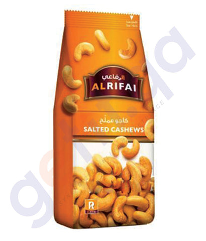 BUY BEST PRICED AL RIFAI CASHEW SALTED 200GM ONLINE IN QATAR