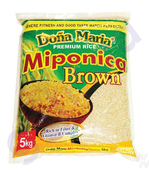 BUY BEST PRICED DONA MARIA MIPONICA BROWN RICE 2KG ONLINE IN QATAR