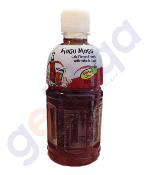 BUY BEST PRICED MOGU COLA JUICE W/NATA 320ML ONLINE IN QATAR
