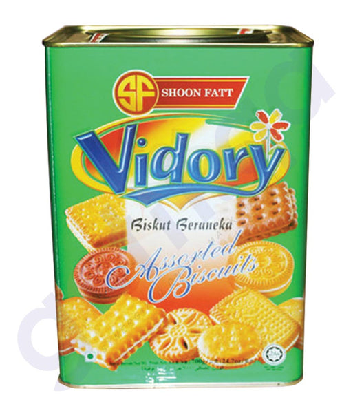 BUY BEST PRICED SHOON FATT VIDORY ASSTD GREEN 700GM IN QATAR