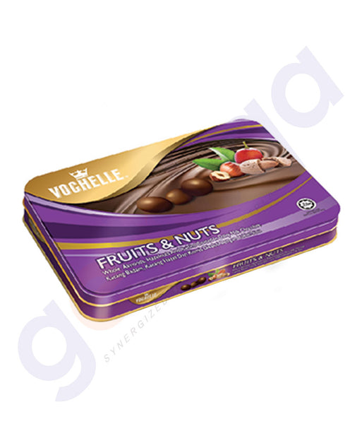 BUY VOCHELLE GIFT COVERD FRUIT&NUT 205GM TIN ONLINE IN QATAR