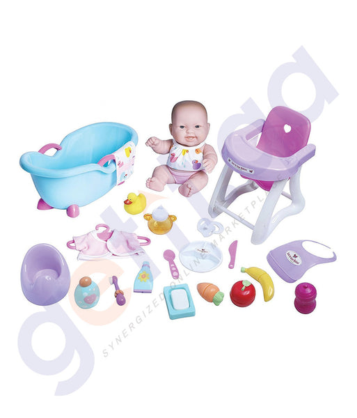 "BUY JC TOYS 10"" LOTS TO LOVE BABIES DELUXE SET-16614 IN QATAR"