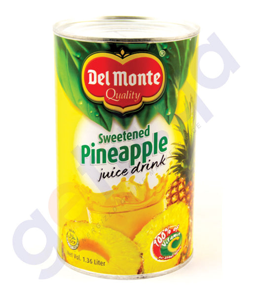 BUY DEL MONTE P/APPLE JUICE DRINK SWETND 1.36 LTR ONLINE IN QATAR