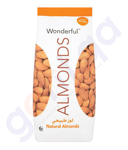 BUY BEST QUALITY WONDERFUL ALMONDS RAW NATURAL 450GM IN QATAR