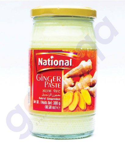 BUY BEST PRICED NATIONAL GINGER PASTE 300GM IN QATAR