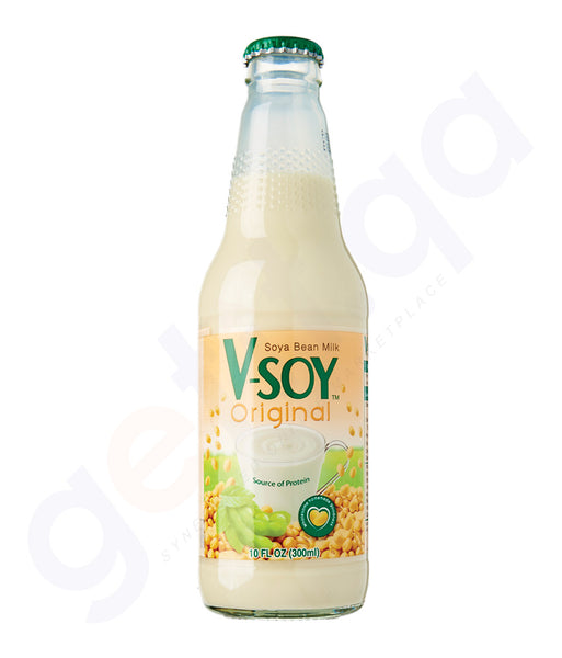 BUY BEST PRICED V-SOY ORIGINAL SOYAMILK 300ML ONLINE IN QATAR