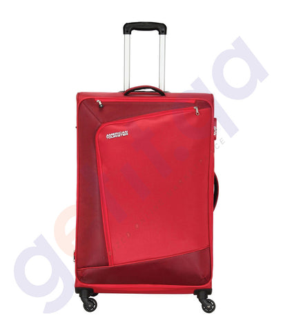 BUY AMERICAN TOURISTER VIENNA SPINNER RED 70CM - 29O IN QATAR