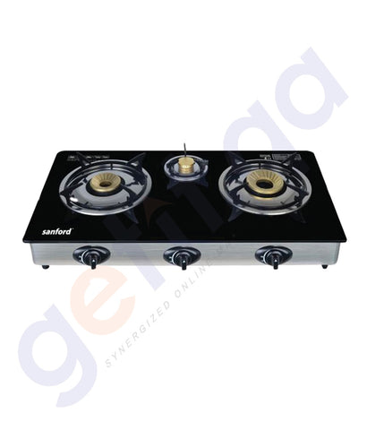 GETIT.QA | BUY SANFORD 3 BURNER GAS STOVE/  SF5326GC IN DOHA QATAR