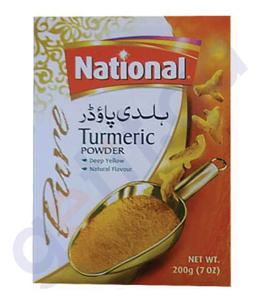 BUY BEST PRICED NATIONAL TURMERIC POWDER 200GM IN QATAR
