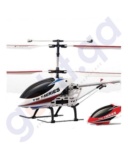 BUY BEST PRICED R/C 3D HELICOPTER SHUTTLE-T10 ONLINE IN QATAR
