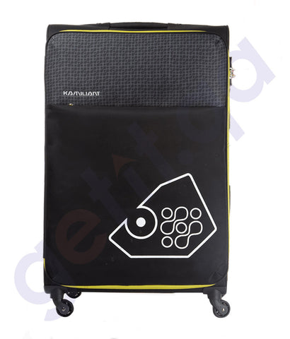 BUY KAMILIANT ZULU SOFT TROLLEY 58 CM BLACK - 17S (*) 09 016 IN QATAR