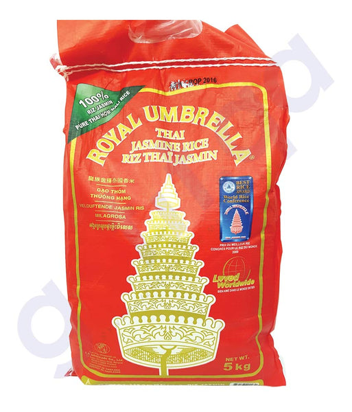 BUY BEST PRICED ROYAL UMBRELLA JASMINE RICE 5KG ONLINE IN QATAR
