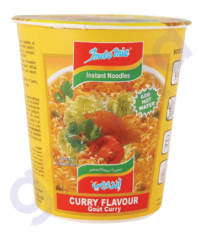 Buy Indomie Cup Noodle Curry Flavor 60g Price in Doha Qatar