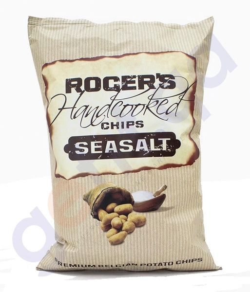 BUY BEST PRICED ROGERS HAND COOKED SEASALT 150GM IN QATAR