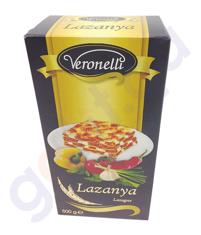 BUY BEST PRICED ANKARA VERONELLI LAZANYA/LASAGNE 500GM IN QATAR