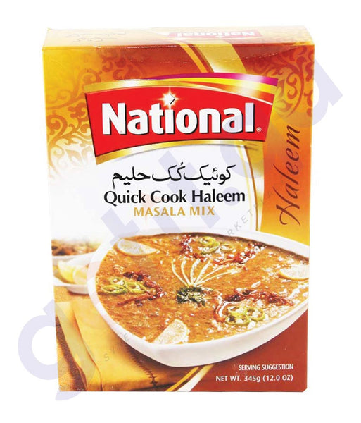 BUY BEST PRICED NATIONAL HALEEM MIX(QUICKCOOK) 345GM IN QATAR