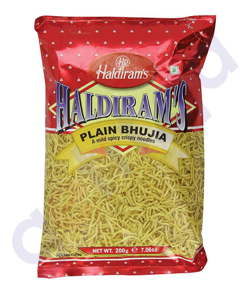 BUY BEST QUALITY HALDIRAMS BHUJIA PLAIN 200GM ONLINE IN QATAR