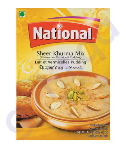 BUY BEST PRICED NATIONAL SHEER KHURMA MIX 160GM ONLINE IN QATAR