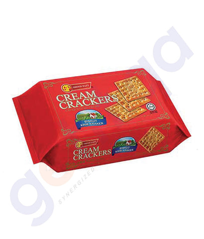 BUY BEST PRICED SHOON FATT CREAM CRACKERS PKT 360GM IN QATAR