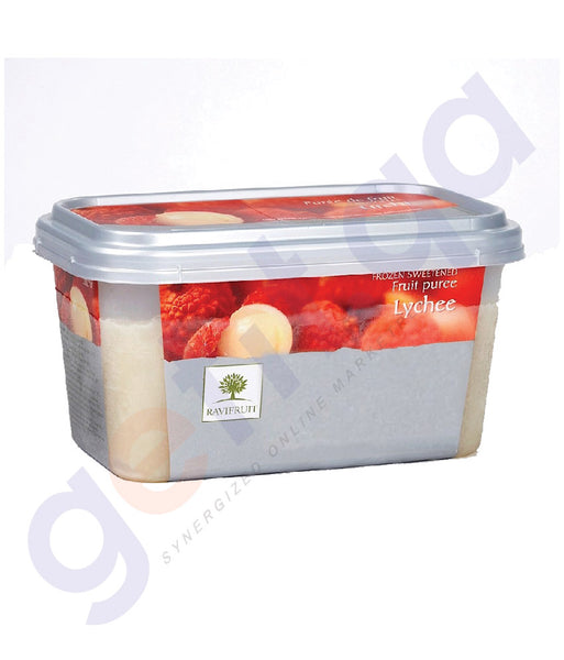 BUY BEST PRICED RAVIFRUIT-FROZEN LYCHEE PUREE{1KG} IN QATAR