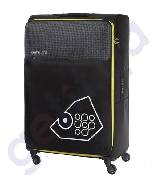 BUY KAMILIANT ZULU SOFT TROLLEY 81 CM BLACK - 17S (*) 09 018 IN QATAR