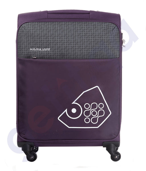 BUY KAMILIANT ZULU SOFT TROLLEY 58 CM PURPLE - 17S (*) 91 020 IN QATAR