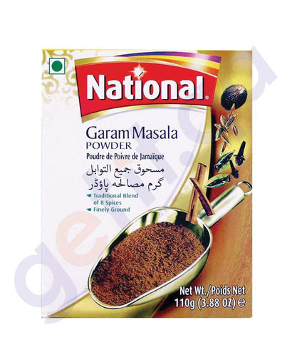 BUY BEST PRICED NATIONAL GARAM MASALA POWDER 110GM IN QATAR