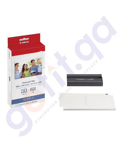 SHOP BEST PRICED CANON DIGITIAL INK/PAPER KP-36 IP IN DOHA QATAR