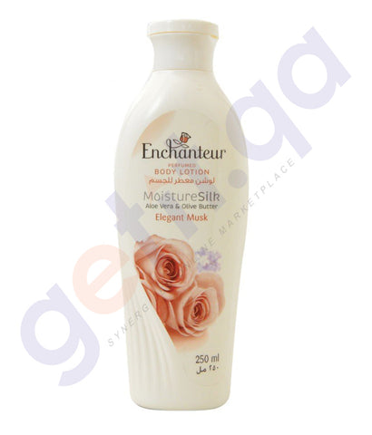 BUY ENCHANTEUR ELEGANT MUSK BODY LOTION 250ML ONLINE IN QATAR