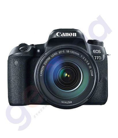 BUY CANON EOS 77D IS USM 18-135MM LENS DSLR IN DOHA QATAR