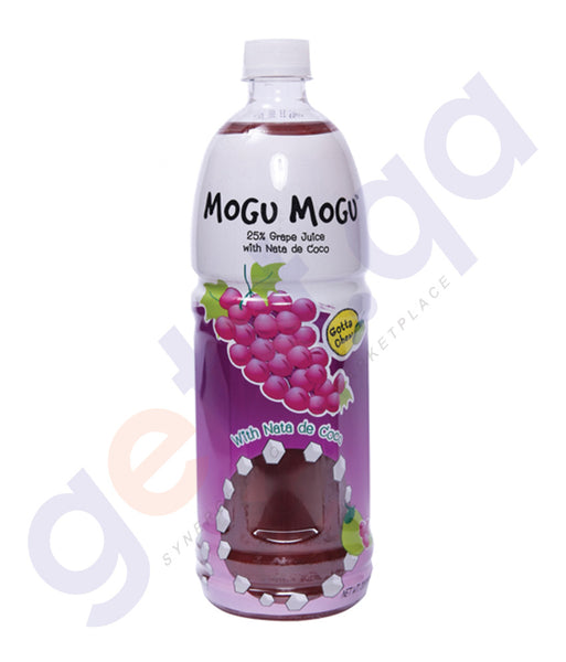 BUY BEST PRICED MOGU GRAPE JUICE W/NATA 1LTR ONLINE IN QATAR