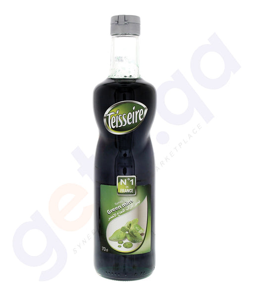 BUY BEST PRICED TEISSEIRE GREEN-MINT SYRUP 700ML ONLINE IN QATAR