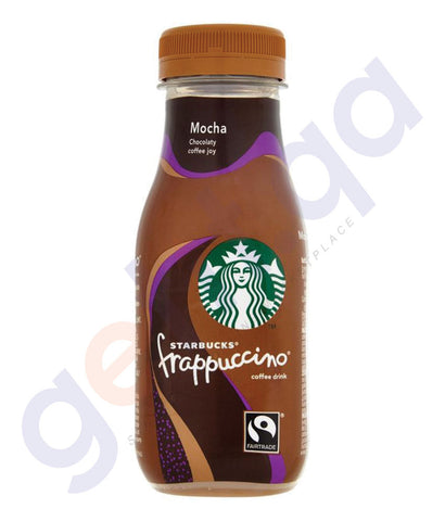 BUY BEST PRICED STARBUCKS FRAPPUCCINO MOCHA GLASS 250ML IN QATAR