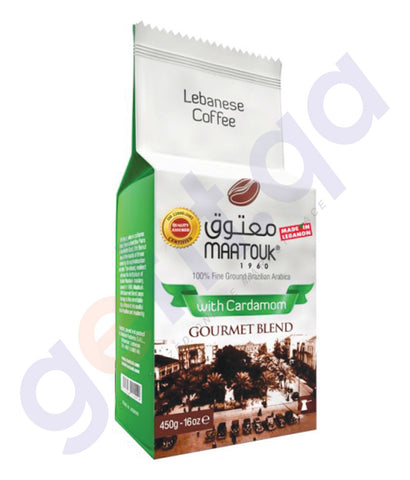 BUY MAATOUK - GOURMET BLEND WITH CARDAMON 450GM IN DOHA QATAR