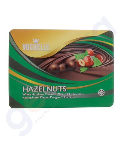 BUY VOCHELLE GIFT COVERED HAZELNUT 380GM TIN ONLINE IN QATAR