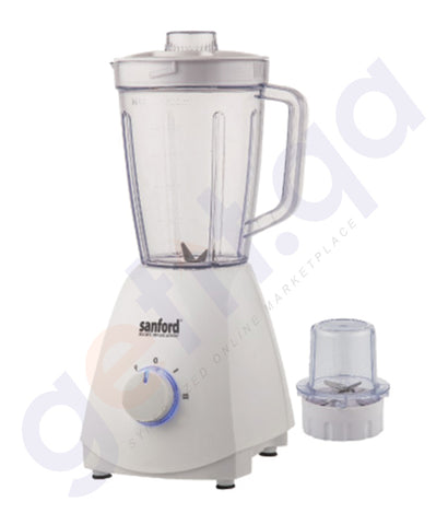 BUY SANFORD 2IN1 BLENDER 400WTS 1.6LT-SF6839BR IN DOHA QATAR