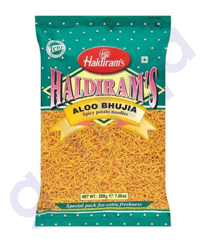 BUY BEST QUALITY HALDIRAMS ALOO BHUJIA 200GM ONLINE IN QATAR