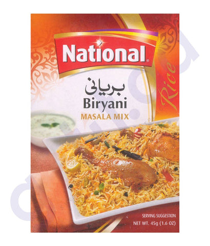 BUY NATIONAL BIRYANI MASALA (2X45GM) ONLINE IN QATAR