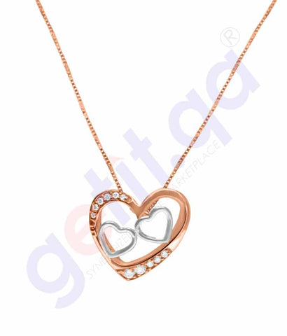 Shop Shine Gold and Diamond Pendants Model 2 in Doha Qatar