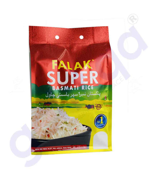 Buy Falak Super Basmati Rice 5kg Price Online in Doha Qatar
