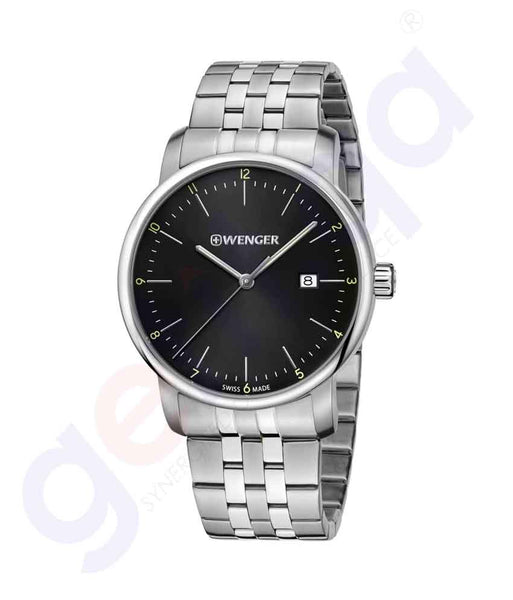 GETIT.QA | Buy Wenger Urban Classic Mens Watch 01.1741.122 Doha Qatar