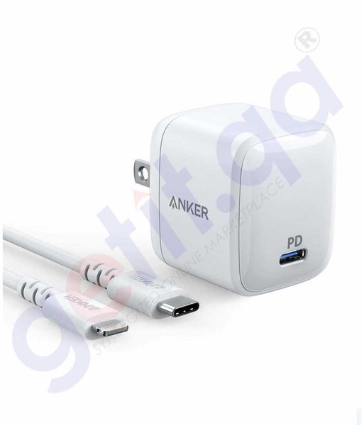 GETIT.QA | Buy Anker Powerport PD1 Lightening to Type C Wht Doha Qatar