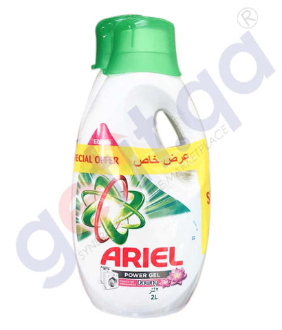 ARIEL POWER GEL LIQUID DOWNY 2 X2L