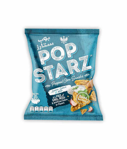 Request Quote Pop Starz Labneh, Garlic & Mint 20g in Doha Qatar