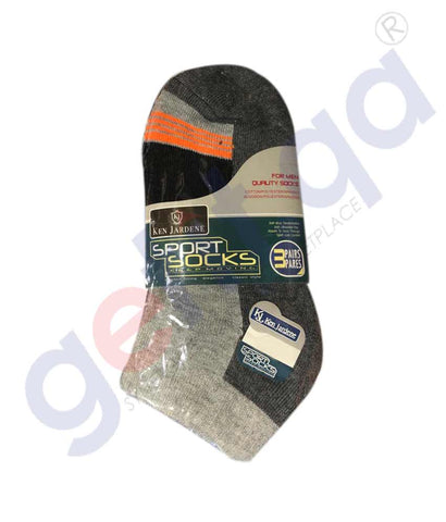 KEN JARDENE MENS TERRY SOCKS 3 PAIR - KMS458